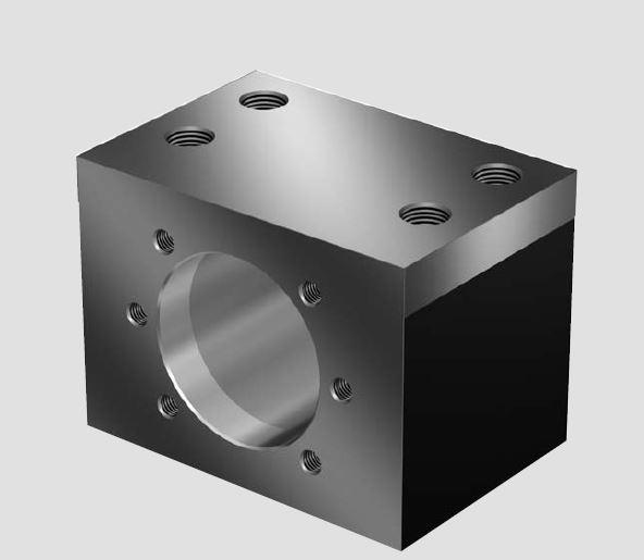 Корпуса гаек MGD предназначены для шариковых гаек FEM-E-C, FDM-E-C и SEM-E-C