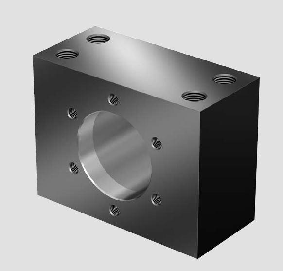 Корпуса гаек MGS предназначены для шариковых гаек FEM-E-S, FDM-E-S и SEM-E-S