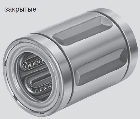 Стандартные шариковые втулки, R0600 закрытого типа, без уплотнительного кольца