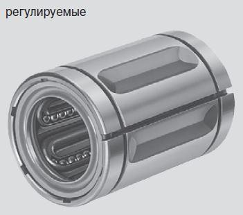 Стандартные шариковые втулки, R0610 регулируемые, без уплотнительного кольца